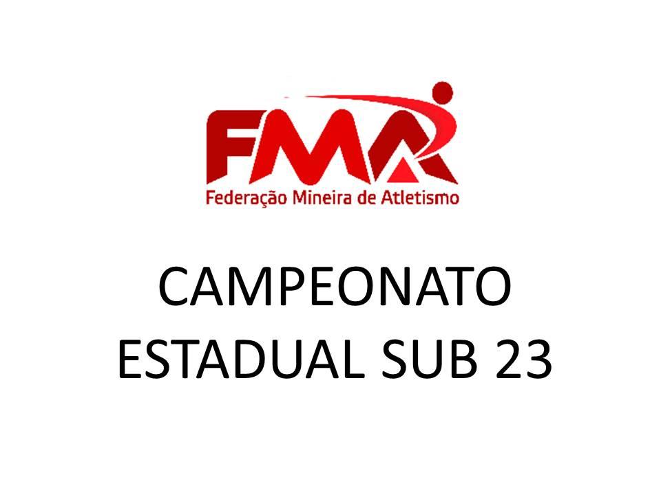 CAMPEONATO ESTADUAL SUB 23 - JUIZ DE FORA - 2018