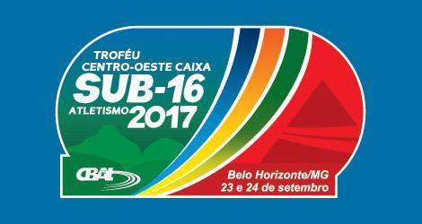 TROFÉU CENTRO OESTE CAIXA DE ATLETISMO SUB-16